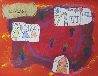 Kindergarten-map of my world