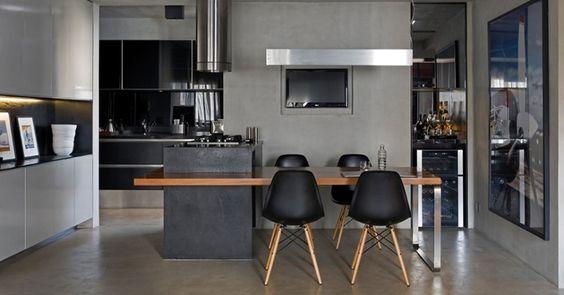 41 ideias de inspiração e indicações de materiais para bancadas na cozinha | bim.bon