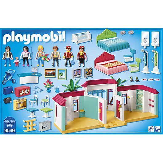 Playmobil 9539 Ferienhotel Playmobil In 2020 Playmobil Ferien Hotel