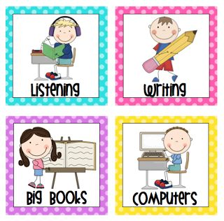 Center Rotation Board Signs by Mrs. Ricca's Kindergarten: Freebies + Editable Rules {FINALLY!}