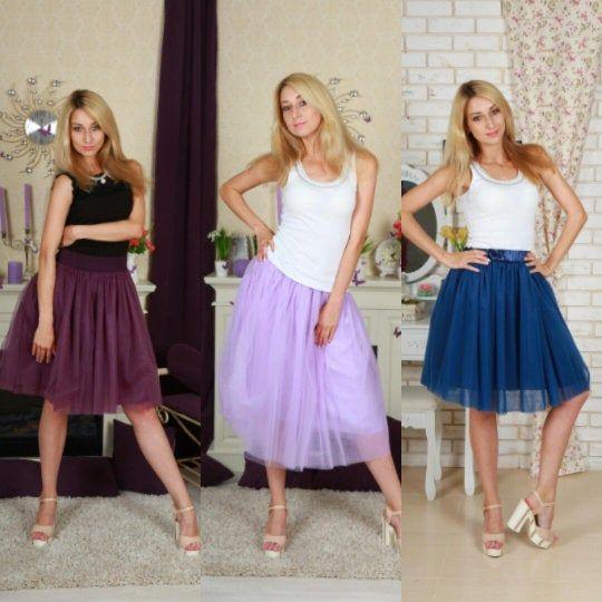 High waisted midi tulle skirt for beach wedding