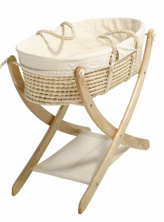 329 seed organic the pod baby moses basket and stand. Black Bedroom Furniture Sets. Home Design Ideas