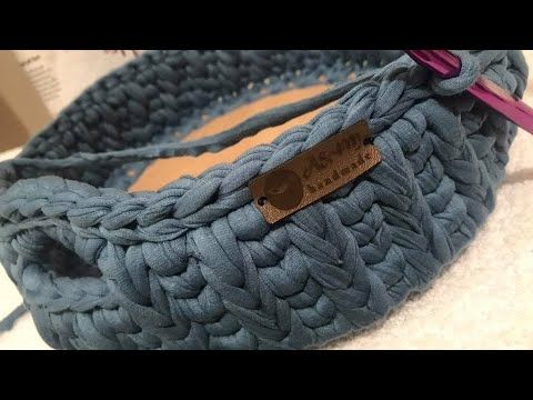 سلة كروشيه من خيط كليم تركى قاعدة خشبية الجزء الثانى Basket Crochet Thread Turkish Wooden Bas Youtube Merino Wool Blanket Wool Blanket Crochet