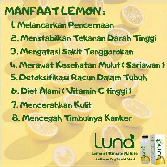 Kepoin Manfaat Lemon Di 2020 Minuman Sehat Minuman Resep
