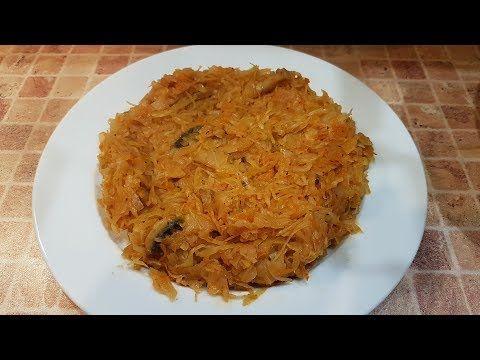 توشونايا كابوستا أطيب اكلة ملفوف كرنب بالعالم Stewed Cabbage Youtube Cooking Recipes Stuffed Peppers Cooking