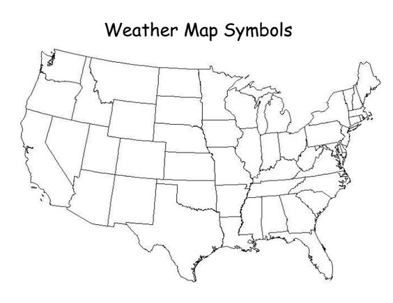 Weather Map Symbol Mapdocx 4th grade science – Travel Maps With Weather