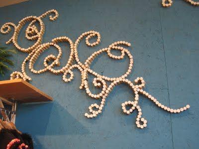 ¡Los tapones de #corcho para decorar tu pared! #Decoración #Arte #Vino