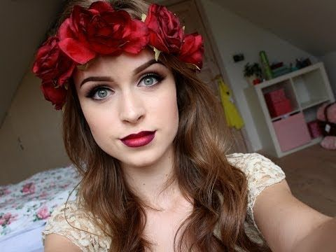 Dark red ombré lips & natural eyes tutorial - Thelipstickjungle_
