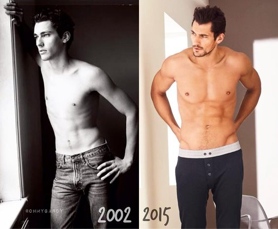 """David ""I get better with age"" Gandy  #perfection"""