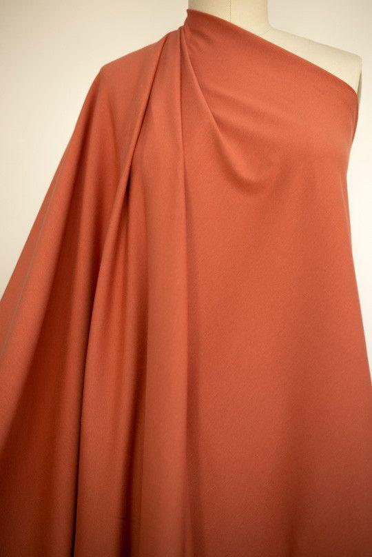 Clay Rose Cotton/Lycra Knit