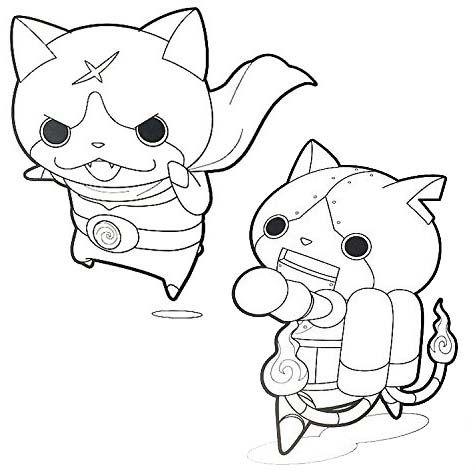 Hilarious Yo Kai Watch Coloring Page Coloring Pages Color Kai