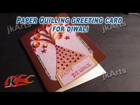 Diwali Greeting Cards Diy Youtube Diwali Greeting Card Making Diwali Greeting Cards Card Making Competition