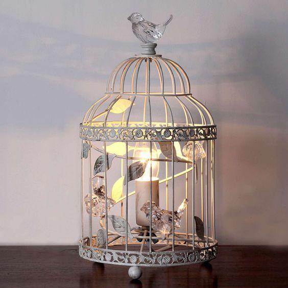 Bethany Birdcage Table Lamp | Dunelm