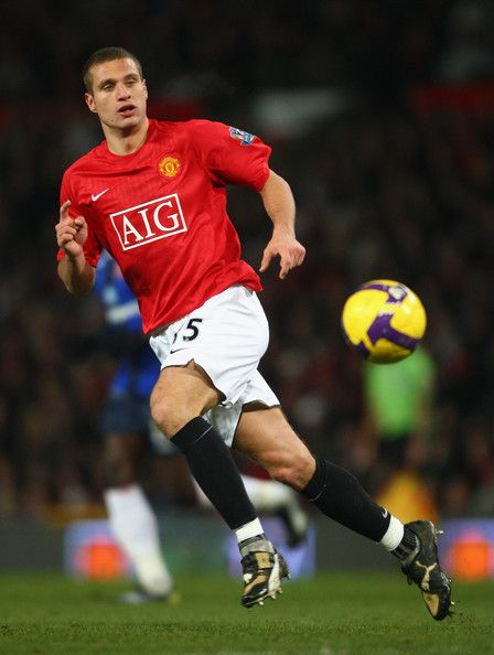 MUFC defender Vidic.