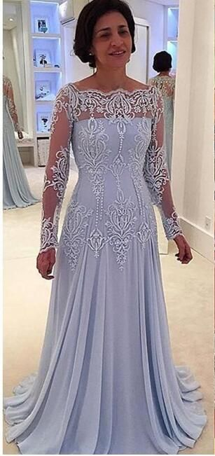 2017 Vintage Long Sleeves Mother Of Bride Groom Dresses Lace Appliques Mother Dresses Floor Length Green Mother Of The Bride Dresses Modest Mother Of The Bride Dresses From Lisa_dress, $100.51| DHgate.Com