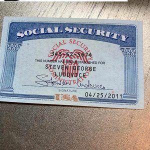 Social Security Card 16 Social Security Card Card Template Card Templates Free