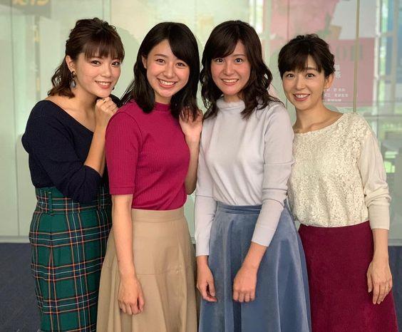 テレ朝メンバーと三谷紬さん!