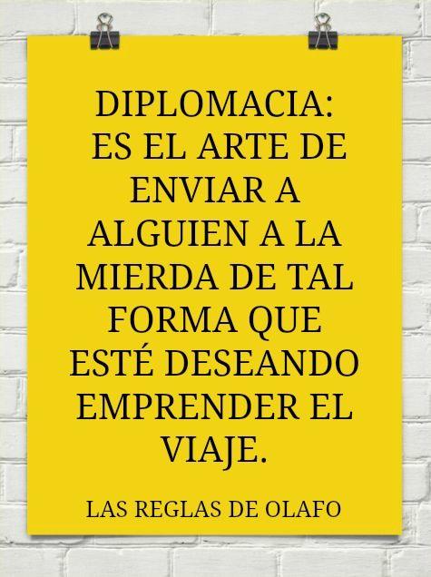 que es la diplomacia