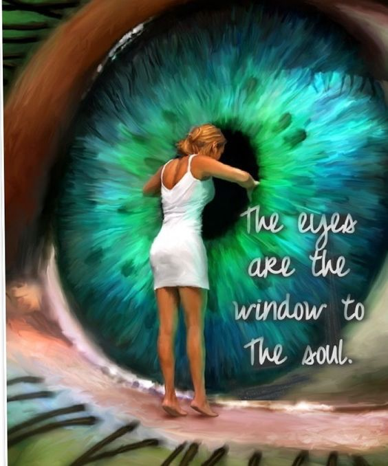 Windows To My Soul: The Soul, The Window And Eye Art On Pinterest