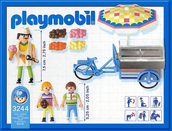 3244 ICE CREAM CART (2004)