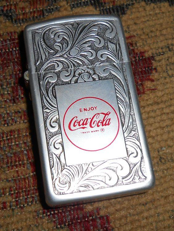 Vintage Coca-Cola Lighter by Park
