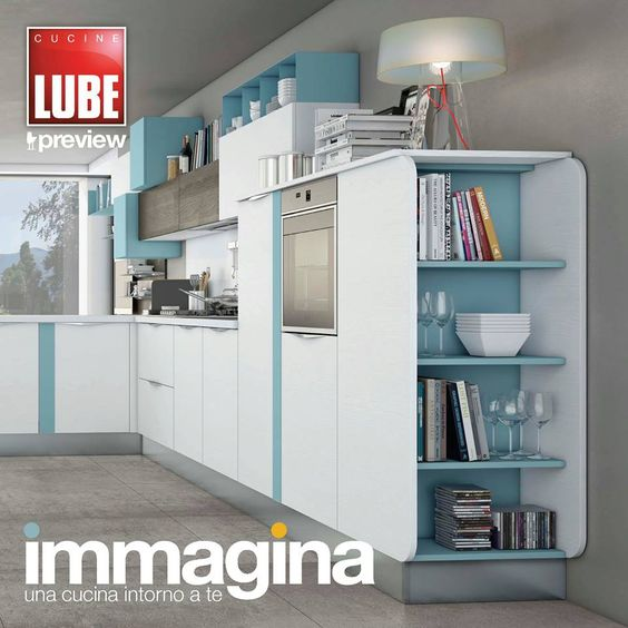 Immagina - Cucine Lube Preview Cover Graphic - render - project ...