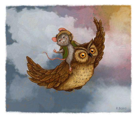 Owl_Mouse2_RobertaBaird-1.jpg (700×601)