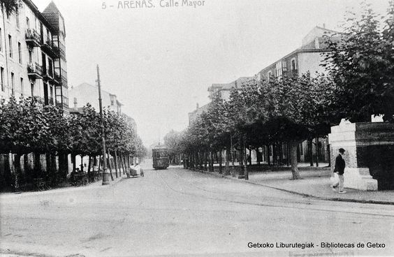 Calle Mayor de Las Arenas (Colección Archivo municipal de Getxo) (ref. SN00149)