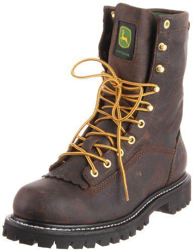 Work Boots John Deere