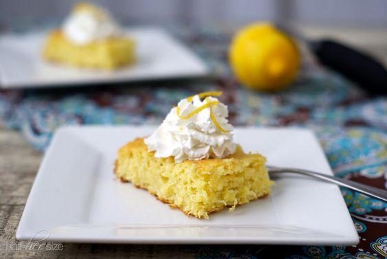 Easy Dessert Recipes: 3 Ingredient Lemon Cake