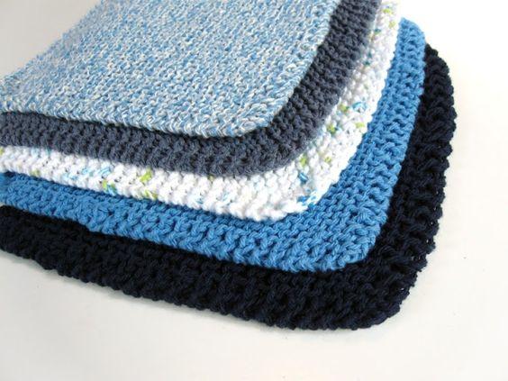 patron tricot gratuit lavette