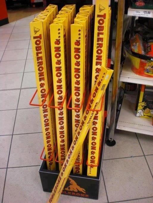 #toblerone XXXL