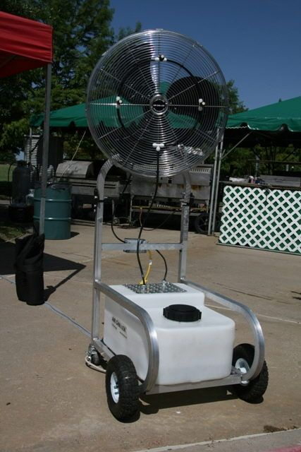 Where To Rent Air Chiller Fan W Mister In Dfw Texas