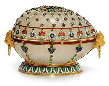 FABERGE offert par Alexandre III à Marie Fedorovna