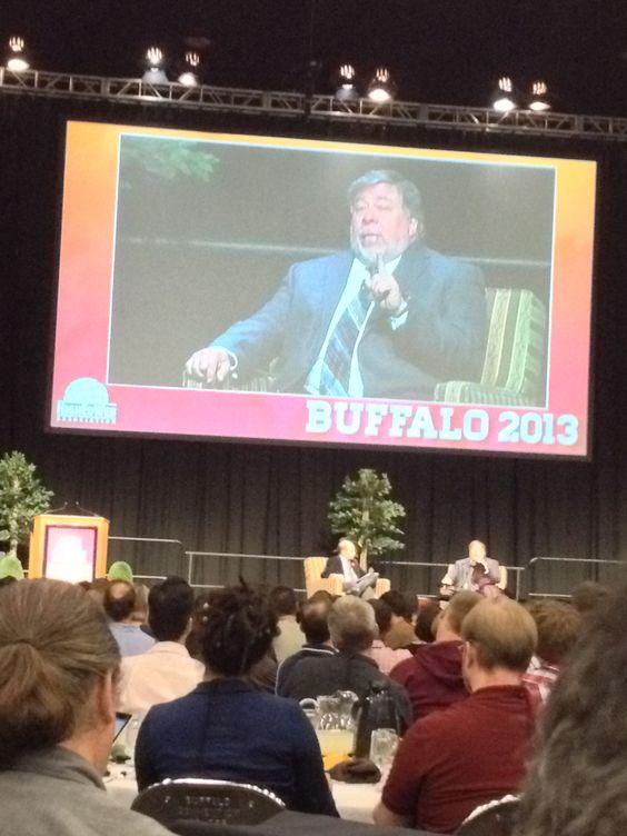 Steve Wozniak at #heweb13