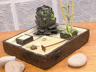 Manualidades y artesan as fuente oriental pasta piedra pinterest crafts - Fuentes zen interior ...