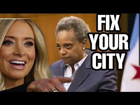 Kayleigh Mcenany Destroys Chicago S Mayor In 2020 Kayleigh Mcenany Radio Usa Trump Wins