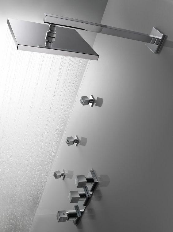 El placer de ducharse.