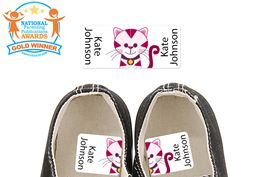 Tiggie Pink - Preschool Shoe Labels