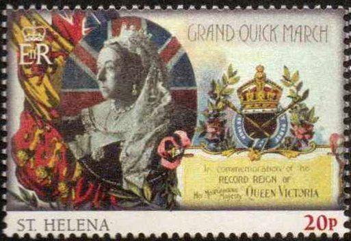 Stamp Queen Victoria Saint Helena 60th Anniversary Of The Coronation Of Queen Elizabeth Ii Mi Sh 1177 Sg Sh 1196 St Helena Queen Elizabeth Ii Stamp