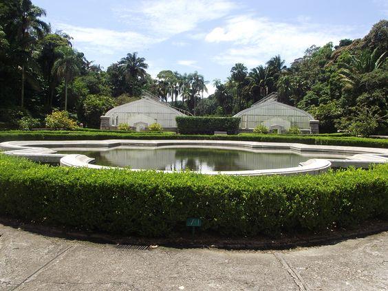 Estufas e Orquidário do Jardim Botânico