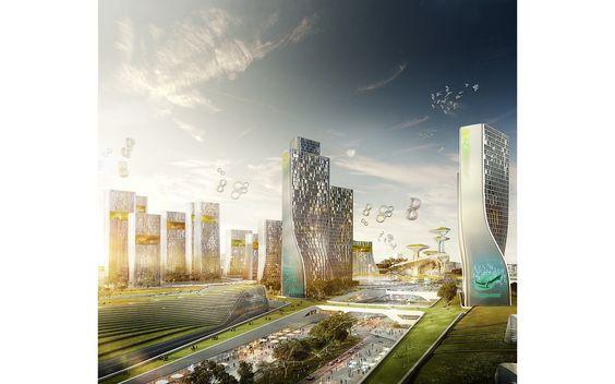 Astana Expo 2017 » UNStudio