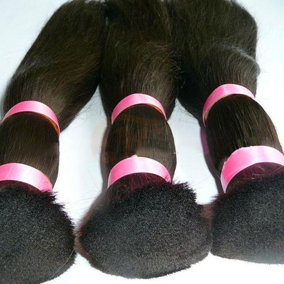 100% Peruvian Human Hair Bulk Natural Unprocessed Straight Hair Raw Material | Wholesale Hair Extension Factory