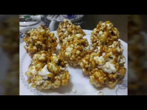 Coox Lezzetli Karamelli Toplar Popcorn Karamelde Sirin Qargidali Youtube Food Make It Yourself