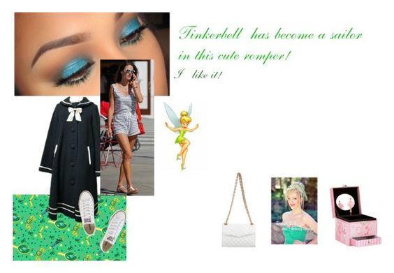 """""""#47: Tinkerbell"""" by sarah-m-smith ❤ liked on Polyvore featuring Converse and Rebecca Minkoff"""