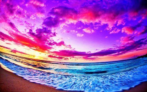 Tide at Sunset
