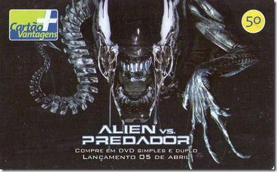 Descrição: Série: Alien vs. Predador (03/06) Operadora: telefônica Tiragem…