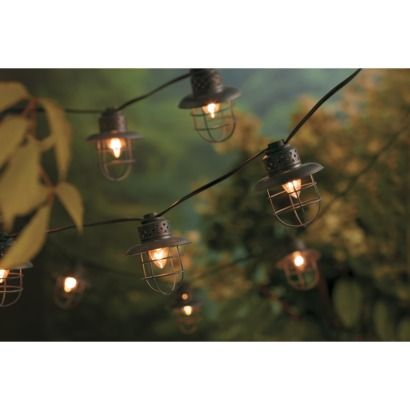 Smith And Hawken String Lights Target : Metal Cage String Lights (10ct) - Smith & Hawken Metals, String lights and Google
