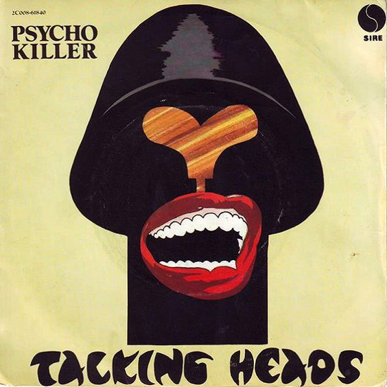 Talking Heads – Psycho Killer (single cover art)