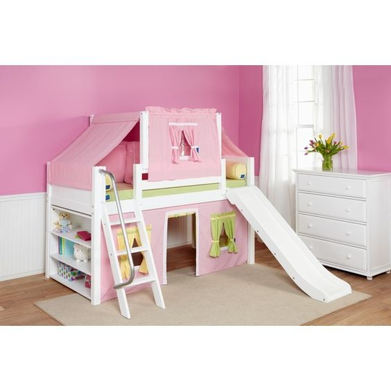 Pinterest the world s catalog of ideas for Kids bed with play area